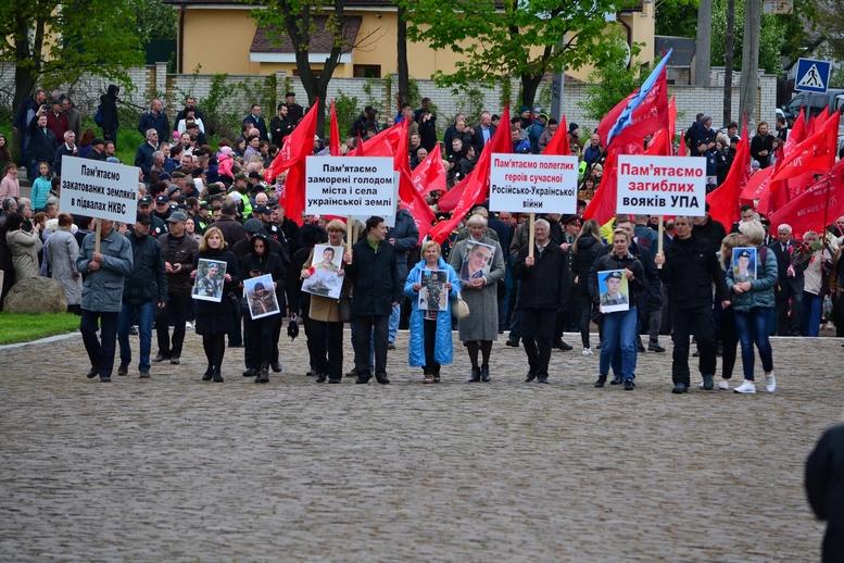 DSC 0875 Kopyrovat - Більше 3 тисяч житомирян вшанували пам'ять загиблих у Другій світовій війні