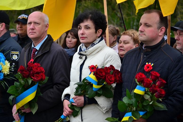 DSC 0882 Kopyrovat - Більше 3 тисяч житомирян вшанували пам'ять загиблих у Другій світовій війні