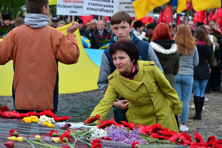 DSC 0914 Kopyrovat - Більше 3 тисяч житомирян вшанували пам'ять загиблих у Другій світовій війні