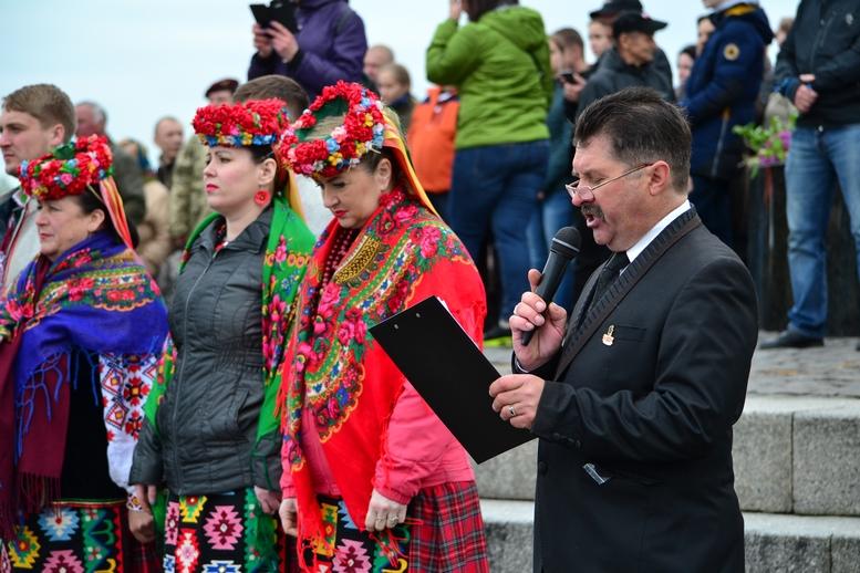 DSC 0931 Kopyrovat - Більше 3 тисяч житомирян вшанували пам'ять загиблих у Другій світовій війні