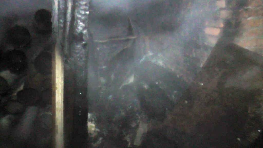 S5570010 1024x576 - В Житомирі горів підвал п'ятиповерхівки