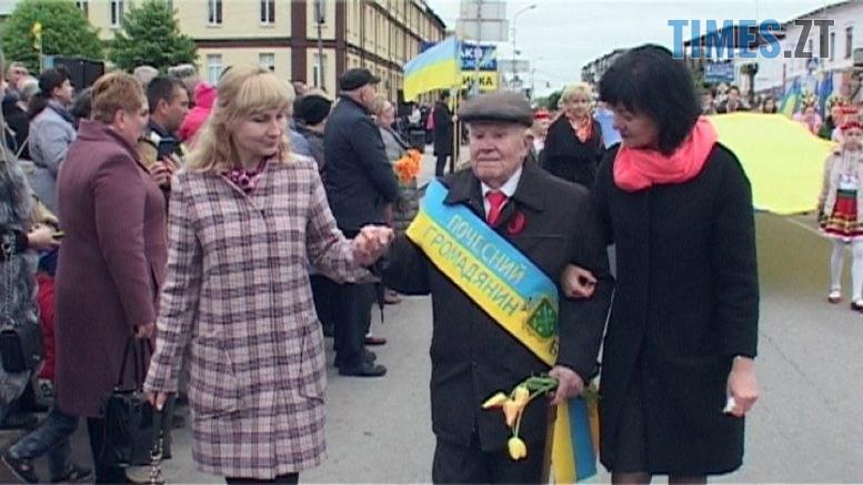 peremoha 777x437 - День Перемоги у Бердичеві: ветерани і молодь святкують разом ВІДЕО)