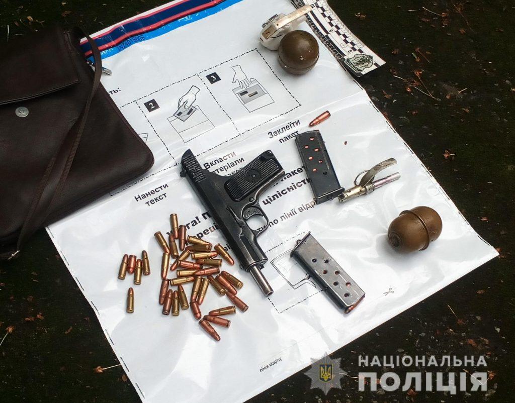 pistolety hranaty 1024x802 - Житомирські правоохоронці затримали учасників злочинного угрупування, створеного громадянами Азербайджану