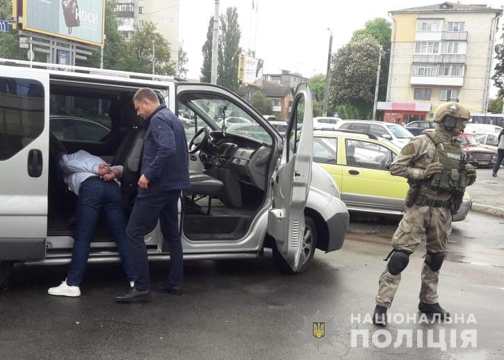zatrymannia 2  - В Житомирі затримали групу наркоторговців