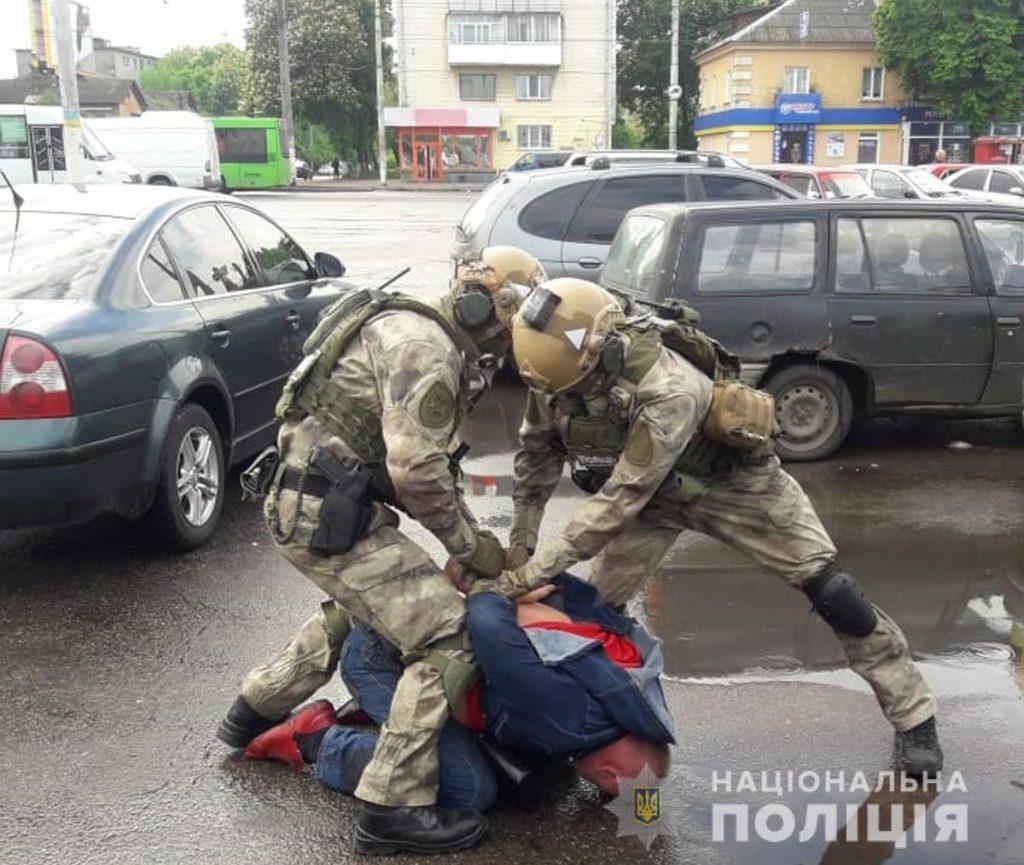 zatrymannia  1024x865 - В Житомирі затримали групу наркоторговців