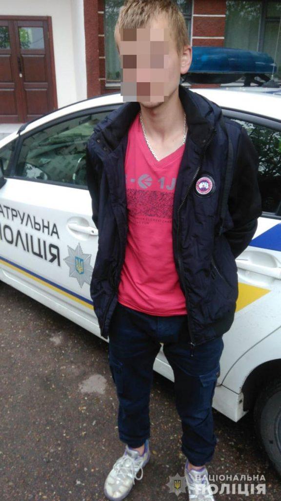 zatrymanyy  576x1024 - Конфлікт між житомирськими студентами завершився поножовщиною