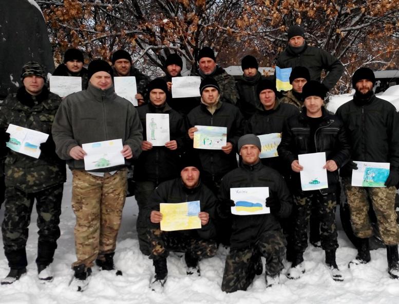 20141201094625 - Сергій Артьомов: «Хлопці з 79-ої бригади йшли з Міусинська. І ми побачили, які вони пошарпані…»