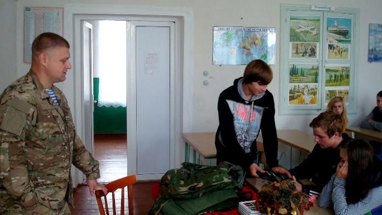 DSC01537 - Сергій Артьомов: «Хлопці з 79-ої бригади йшли з Міусинська. І ми побачили, які вони пошарпані…»