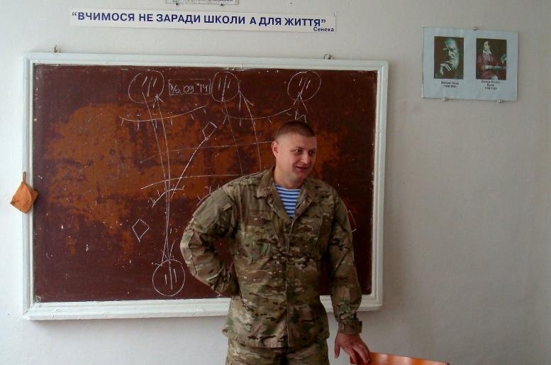 DSC01547 - Сергій Артьомов: «Хлопці з 79-ої бригади йшли з Міусинська. І ми побачили, які вони пошарпані…»