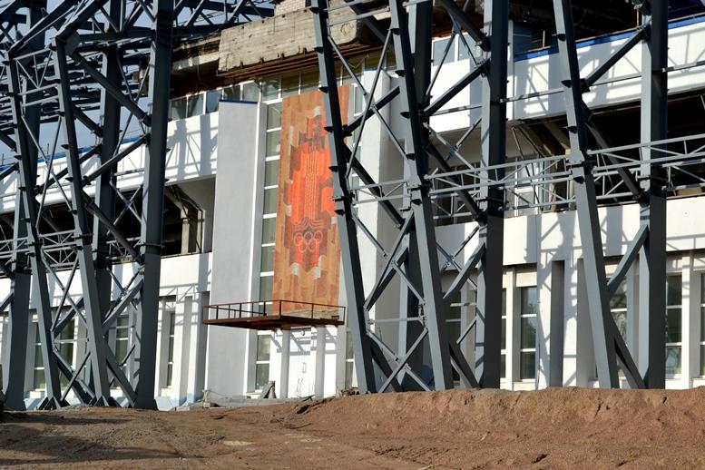 DSC 0200 - Червоні кільця 5 шт.: Житомир отримає стадіон з шизофренічною радянською мозаїкою (ФОТО)