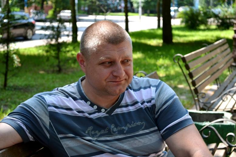 DSC 0285 - Сергій Артьомов: «На одній половині Степанівки – ми, на іншій – «сепари» і росіяни…»