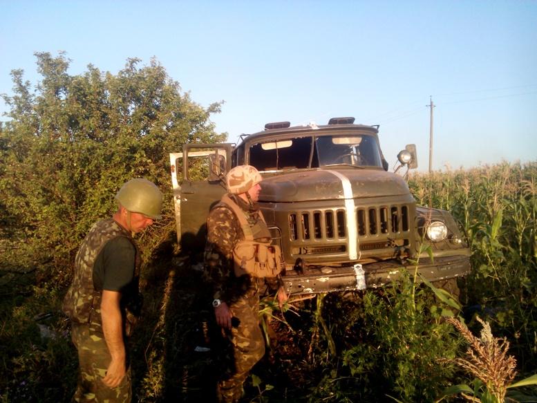 IMG 20140730 054452 - Сергій Артьомов: «Хлопці з 79-ої бригади йшли з Міусинська. І ми побачили, які вони пошарпані…»