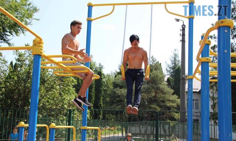 Screenshot 100 - У Житомирі відкрили ще один спортмайданчик (ФОТО)