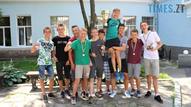 Screenshot 113 - Вихованці школи футболу «Полісся» вперше в історії стали чемпіонами України