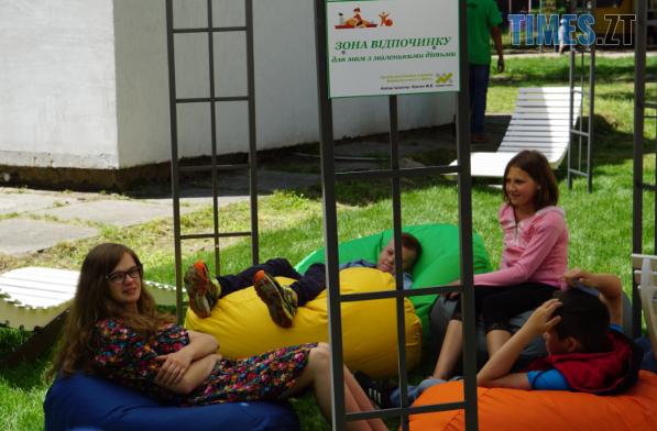 Screenshot 2 - В житомирському Гідропарку з'явилася зона відпочинку для мам із дітками (ФОТО)