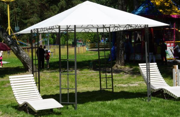 Screenshot 3 - В житомирському Гідропарку з'явилася зона відпочинку для мам із дітками (ФОТО)