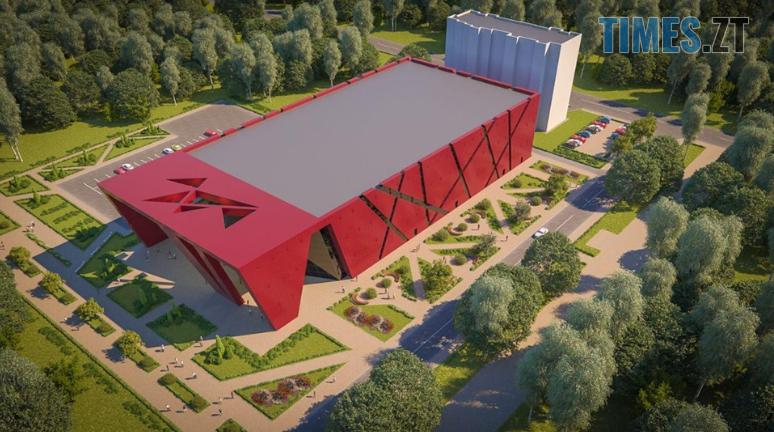 """Screenshot 49 1 - Сухомлин оприлюднив візуалізацію майбутнього """"Палацу спорту"""", який збудують у Житомирі (ВІДЕО)"""