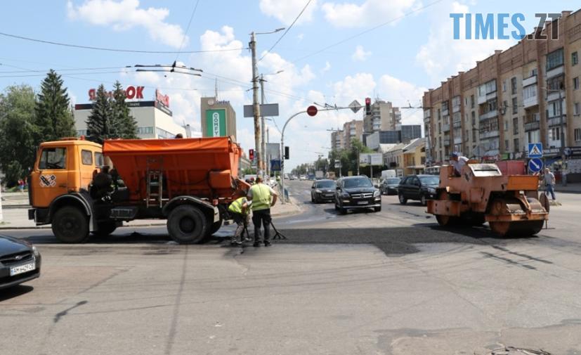 Screenshot 56 - Нарешті! У Житомирі почали ремонтувати найпроблемніші ділянки автодоріг (ФОТО)