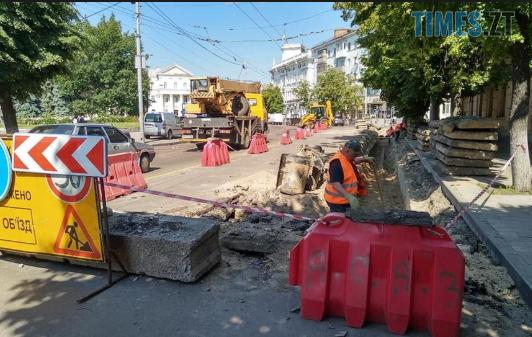 Screenshot 6 4 - У Житомирі триває ремонт дороги вздовж вулиці Бердичівської (ВІДЕО)