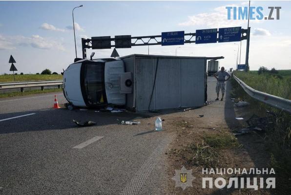 Screenshot 65 - На Житомирщині зіштовхнулись вантажівка та мікроавтобус, травмовано 2 людей (ФОТО)
