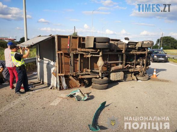 Screenshot 66 - На Житомирщині зіштовхнулись вантажівка та мікроавтобус, травмовано 2 людей (ФОТО)