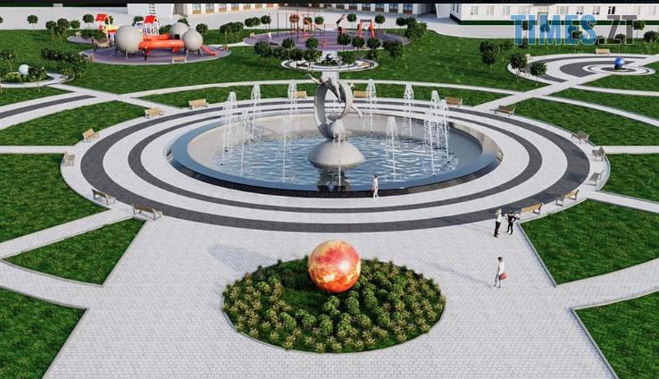 hlavnaia - Кабмін виділив 10,6 млн грн на реконструкцію території навколо фонтану «Космонавт» у Житомирі (ФОТО)