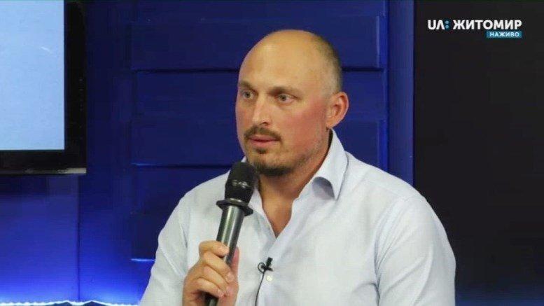 03 - Олег Грамотенко: «Треба почистити калюжу, з якої п'є Житомир, і накрити її сонячною електростанцією»