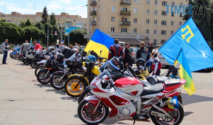 Screenshot 11 3 - До Житомира завітали учасники щорічного всеукраїнського Мотопробігу єдності (ФОТО)