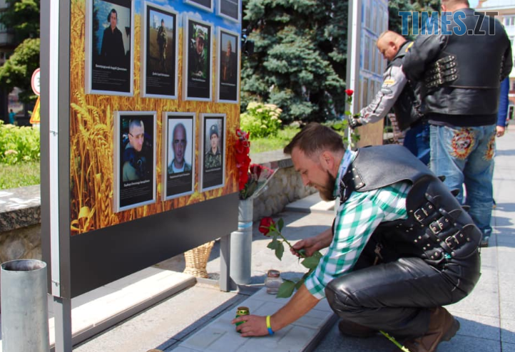 Screenshot 14 3 - До Житомира завітали учасники щорічного всеукраїнського Мотопробігу єдності (ФОТО)