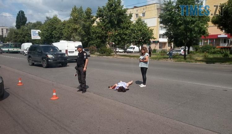 Screenshot 4 3 - На проспекті Миру в Житомирі водій на Lexus збив жінку-пішохода (ФОТО)