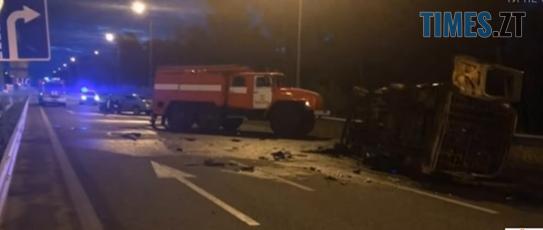 Screenshot 5 2 - Унаслідок моторошної ДТП на Житомирській трасі загинуло двоє військових, третій - у реанімації (ВІДЕО)