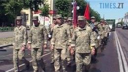 marsh 2 260x146 - Гучний 15-ий День народження 26-ої бригади у Бердичеві (ВІДЕО)