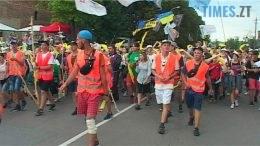 palomnyky 2 260x146 - Люди з різних куточків України та світу ідуть до бердичівської святині (ВІДЕО)