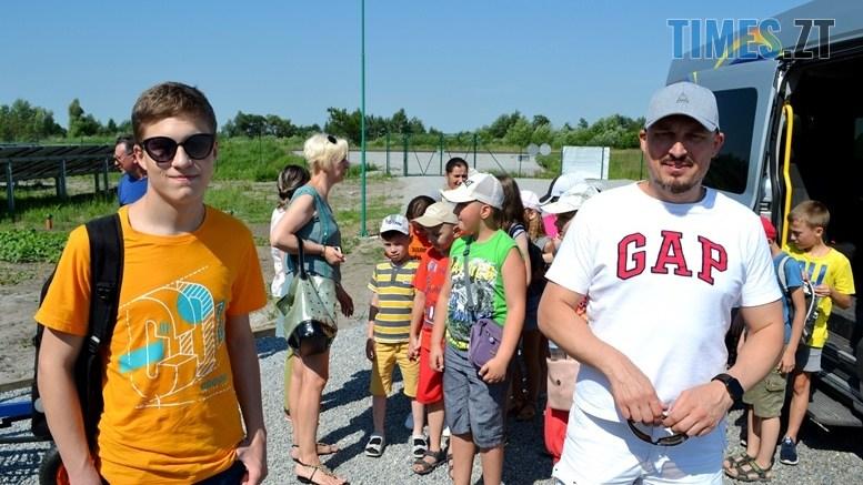preview 3 - Олег Грамотенко та його син Микола провели екскурсію для дітей на Ганській СЕС (ФОТО, ВІДЕО)
