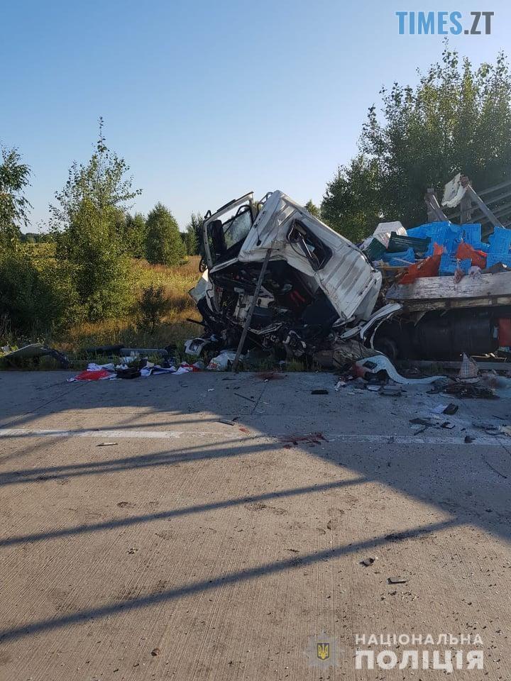 69126045 371314620420391 689547975646511104 n - Моторошна ДТП на Житомирщині: унаслідок потужного зіткнення двох вантажівок загинули водії (ФОТО)