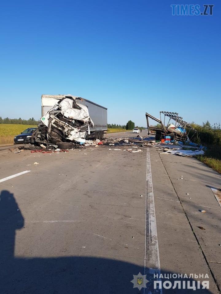 69174177 2548087005230902 2242547285898559488 n - Моторошна ДТП на Житомирщині: унаслідок потужного зіткнення двох вантажівок загинули водії (ФОТО)