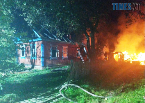Screenshot 6 - У моторошній пожежі на Житомирщині загинули батько та син
