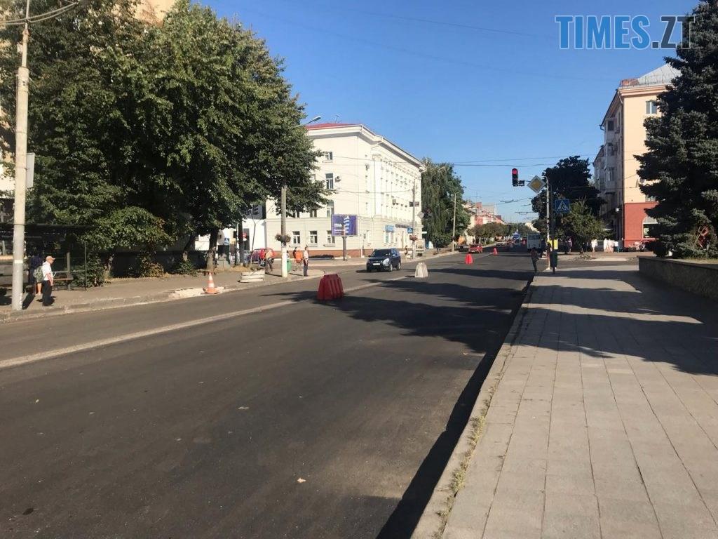 img1567064647 1024x768 - У Житомирі продовжують ремонтувати дороги (ФОТО)