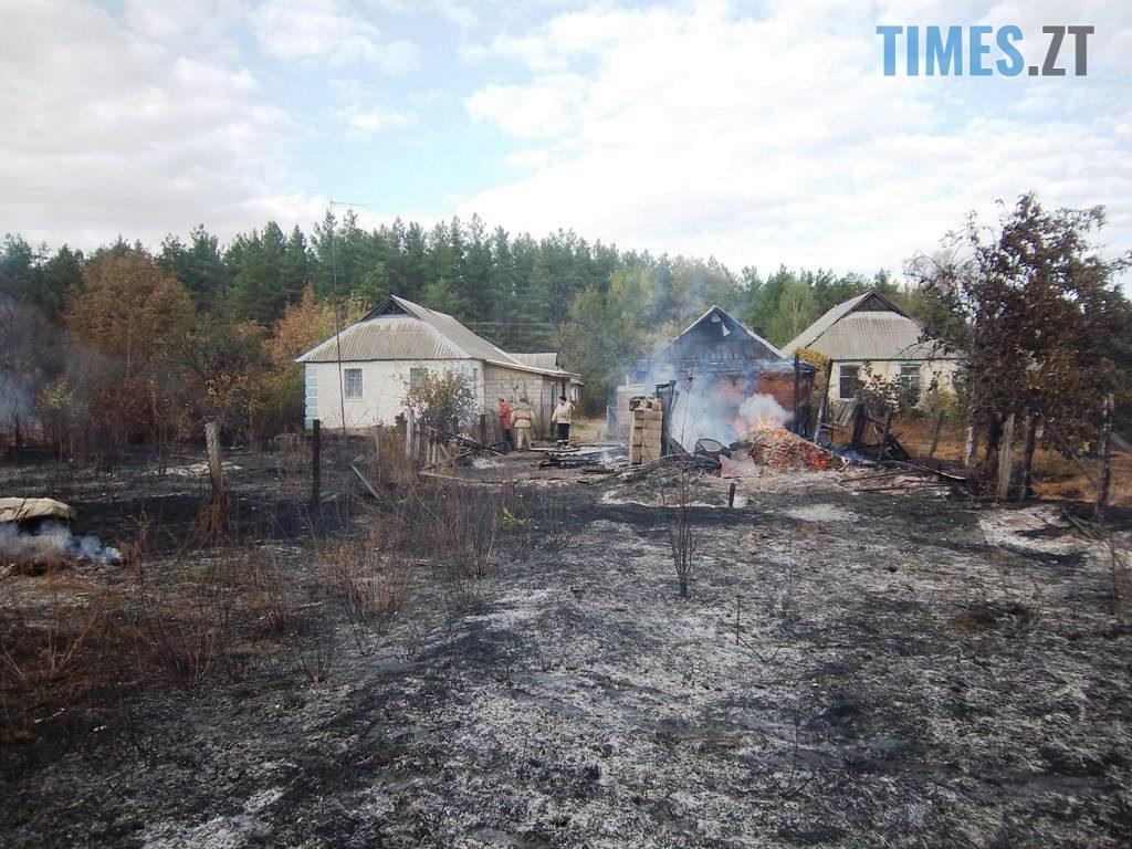 100 4630 1024x768 - Житомирщина: під час спалювання сухостою чоловік підпалив 5 приватних домоволодінь (ФОТО)