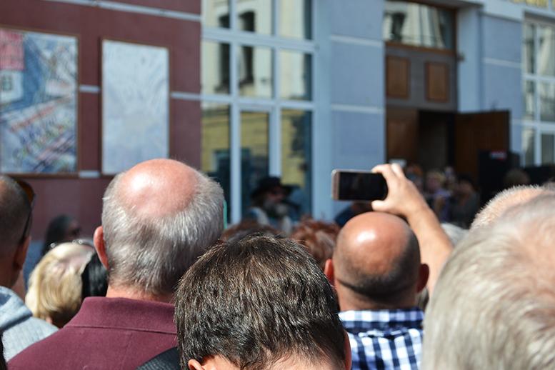 27 - «Грєбєнь» на Михайлівській: «Акваріум» почав у Житомирі з безплатного виступу (ФОТО)