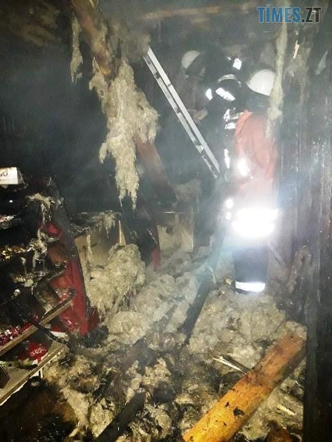 IMG 2224 - На Житомирщині через несправність проводки загорівся магазин