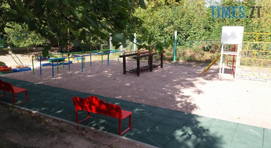Screenshot 12 4 - У Житомирі облаштували ще один сучасний дитячий майданчик (ФОТО)