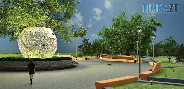 Screenshot 13 1 - У Житомирі на Покровській створюють «Європейський сквер» за 1,4 млн грн (ФОТО)