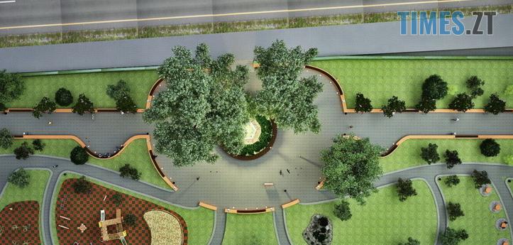 Screenshot 14 1 - У Житомирі на Покровській створюють «Європейський сквер» за 1,4 млн грн (ФОТО)