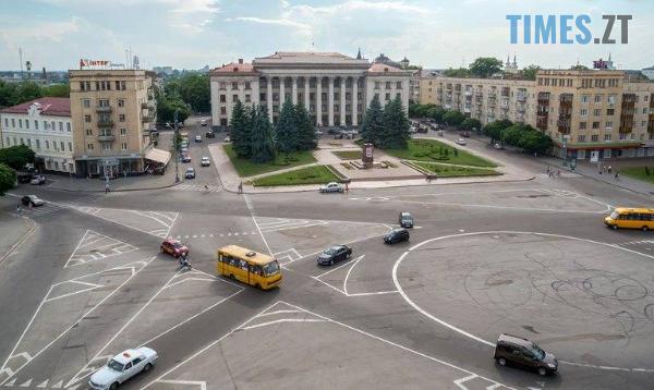 Screenshot 35 - У Житомирі можуть на цілий тиждень перекрити рух транспорту на майдані Соборному
