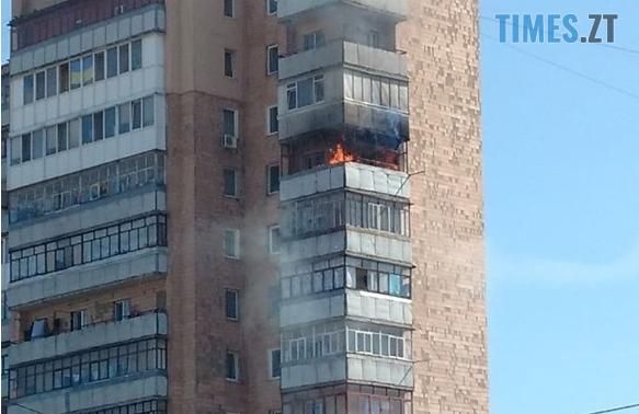 """Screenshot 5 1 - Житомир: у багатоповерхівці навпроти """"Глобала"""" жахлива пожежа (ВІДЕО)"""