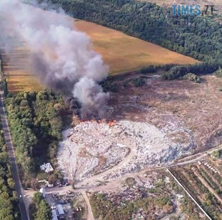 kd10091910 2 - Бердичів: у мережі оприлюднили фото масштабної пожежі на сміттєзвалищі (ФОТО)