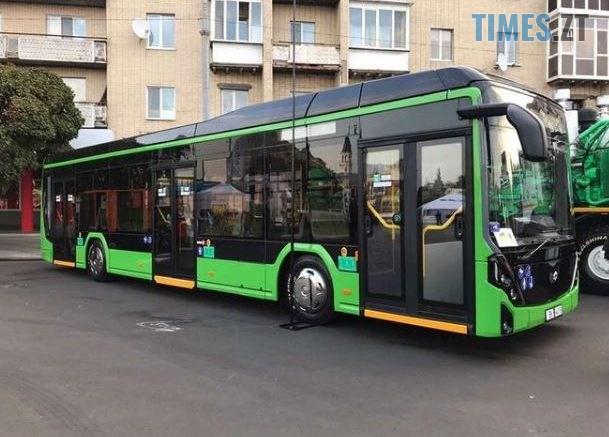 5d9750cc3e476 1570197708 609x437 - У Житомирі презентували новий модерновий електроавтобус