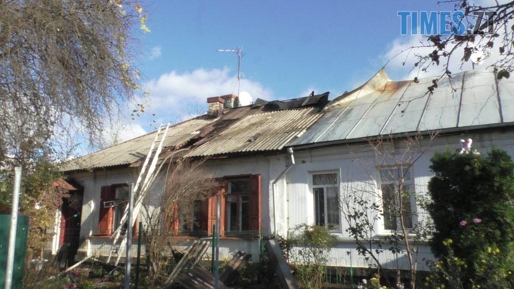 S5930009 1024x576 - У Житомирі горів будинок на чотирьох господарів