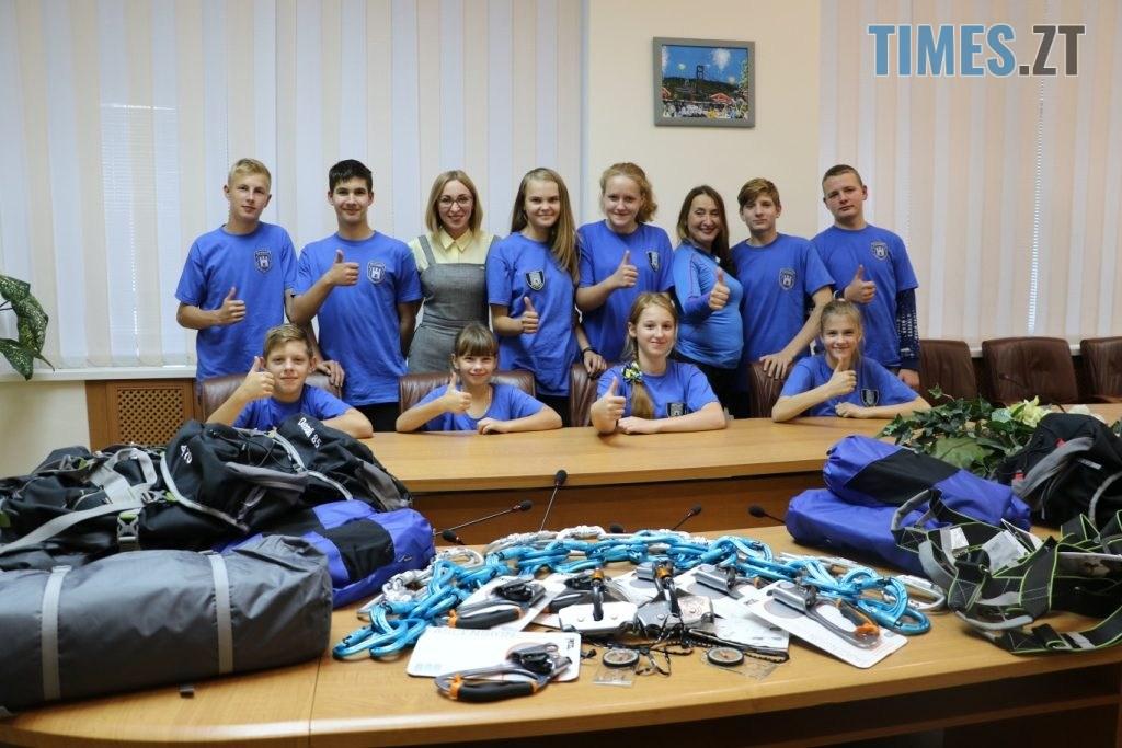 img1571408976 1024x683 - Туристичний клуб з Житомирщини виграв грант від міського голови (ФОТО)